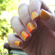 Exotic Canaries & Energic Tangerine (L'Oréal).