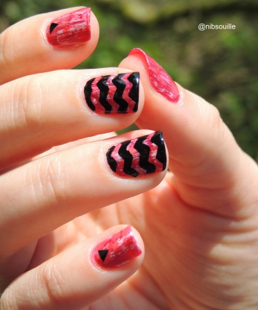Nail Art Chevrons.