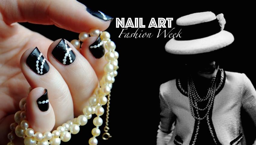 Nail Art Chanel Bannière