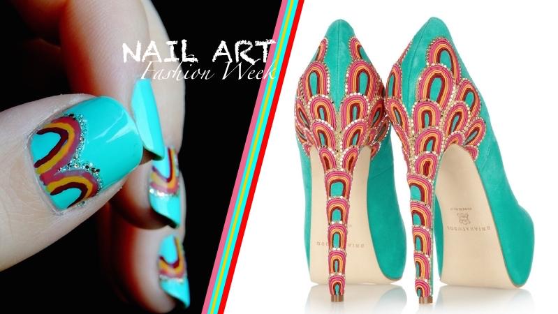 Nail Art Chaussure