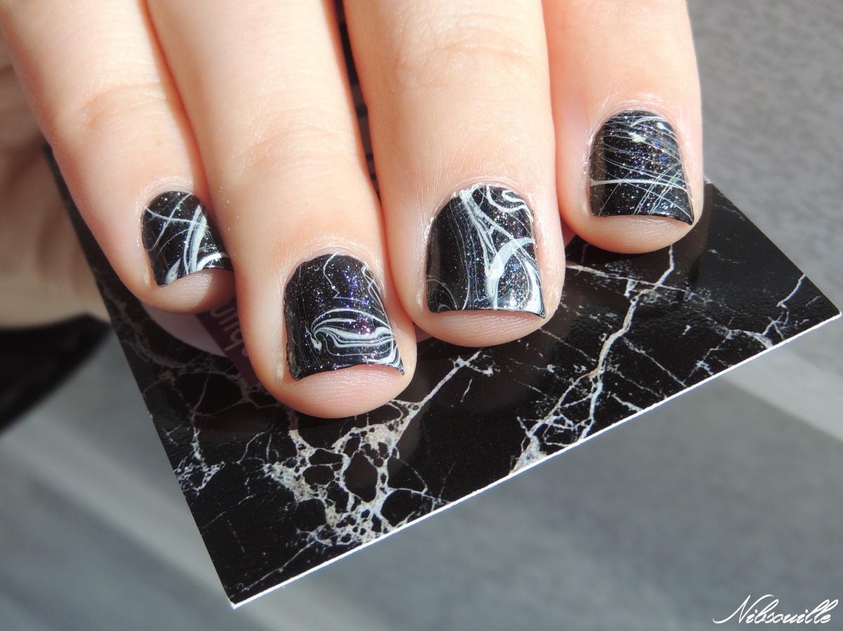 Inspiration Pshiiit Carte » Marbre noir & blanc