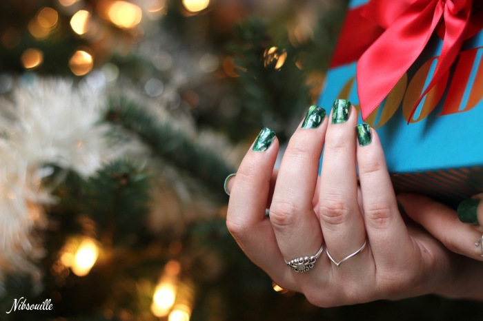 Nail art Noël 2015