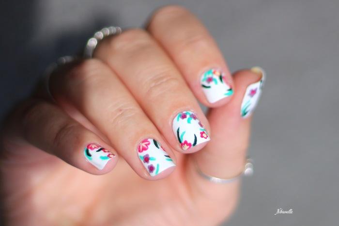 XComaBirthday Nail Art Fleuri _1