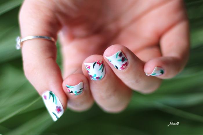 XComaBirthday Nail Art Fleuri _8
