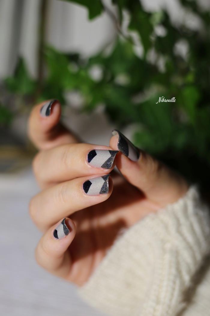Nail Art Automne Gris 9