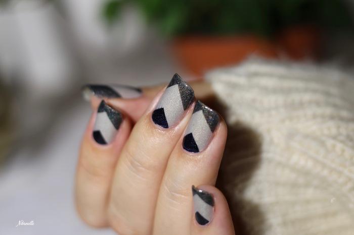 Nail Art Automne Gris 5