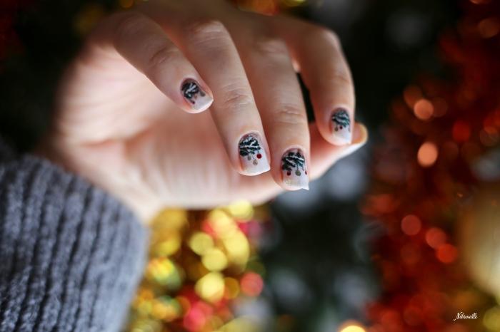 Nail Art Noël Sapin Sauvage_2
