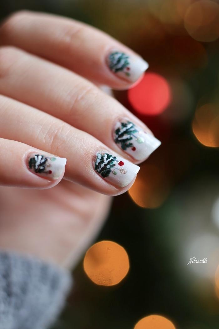 Nail Art Noël Sapin Sauvage_4
