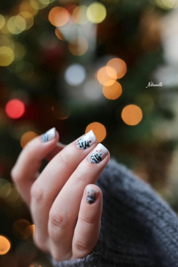 Nail Art Noël Sapin Sauvage_7