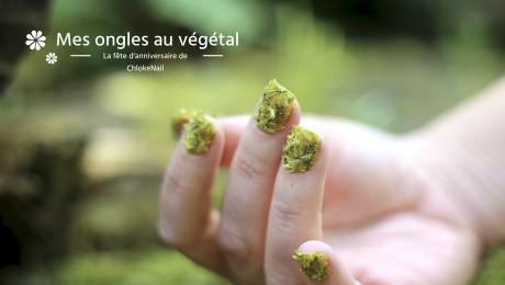 Ongles végétal mousse